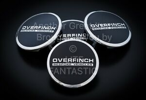 4 ALLOY WHEEL CENTRE HUB CAPS for OVERFINCH RANGE ROVER EVOQUE SPORT DISCOVERY