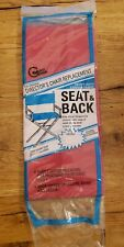 Black - Gold Medal Director's Chair Replacement Heavy Duty Canvas Seat & Red