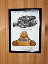 OLIVER - Framed Master Pattern for Model 170 Straitoplane w/ vintage image