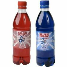 Slush Puppie Syrup 500ml For Slushies - Choose from Blue Raspberry or Red Cherry