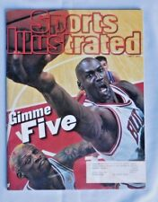 Michael Jordan Gimme FIVE June 9 1997 Sports Illustrated