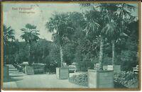 Ansichtskarte Bad Pyrmont - Der Palmengarten - BROMOGOLD-Karte - 1925 - Goldrand