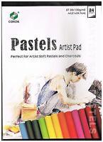 Pastel Papier 24 Blatt 120 gr  DinA4 farbig