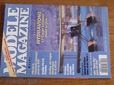 $$$ Revue modele magazine N°501 Plan encarte Acro-FunHydravionsFC-16 Futaba