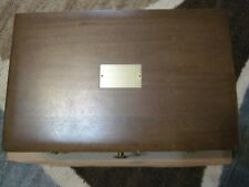 Used Nice Naken's Tarnish Proof Silverware Chest with Drawer, Not Engraved
