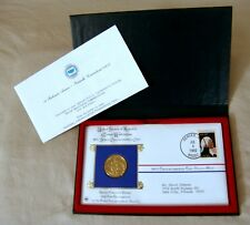 Mint Washington 1982 Commemorative Coin, Cover, Stamp & Holder! New Condition!