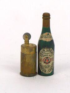 1940s Canada JOHN LABATT STOCK ALE 2¾ inch Mini Bottle Lighter Tavern Trove