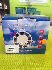 Rohrventilator mit Kugellager 100 mm Rohrlüfter Kanallüfter Axial VKO