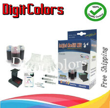 ink cartridge refill ink kit bottle tool box for HP 99 tri-color Photo K, LC,LM