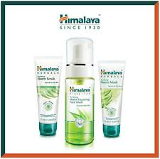 Himalaya Neem Face Wash Foam, Scrub and Mask Combo | Acne Solution | 3pc Set