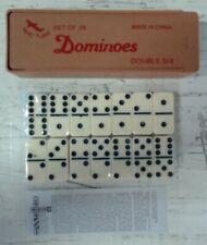 NEW Aero Plane Set of 28 Dominoes Double Six