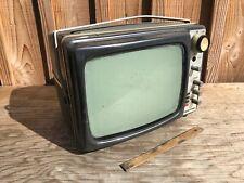 Ancien petit téléviseur noir et blanc Supertone,Vendu en l'état pour pièces