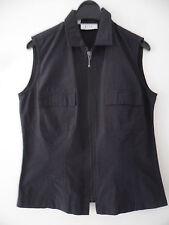 Markenlose Jacken, Mäntel & Westen ohne Muster mit Reißverschluss