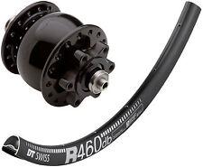 "28""/29er rueda delantera con son 28 Disk 6 agujero negro llanta dt-Swiss R 460 DB"