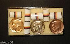 3 Antiguo DDR Dr Theodor-Neubauer-Medaille 1.Satz