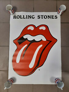 ROLLING STONES PLAKAT XL 895 x 640 mm Zunge Tongue Poster Jagger Richards