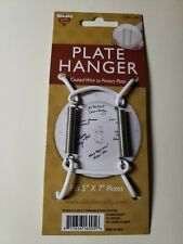 """Nicole Small Plate Hanger With Coated Wire For 5"""" X 7"""" Plates"""