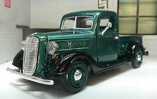 G LGB Scale 1:24 1937 Ford Vintage Lorry Truck Pickup Diecast Model Green 73233