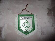"""Werder Bremen Original kleiner gedruckter 70iger Jahre Wimpel """"Wappen"""" Neu"""