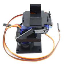 FPV Braket Kit 9g Servo Plataforma giratoria 2-ejes SG90 MG90 con servos