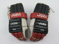 """VTG Leather JOFA Chicago Blackhawks NHL Pro Stock Hockey Player Gloves 14"""""""