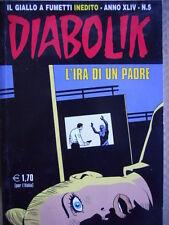 DIABOLIK - prima edizione - anno XLIV n°5 [G.246]