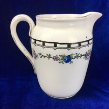 Tuscan Fine Bone China  Milk Jug Made In England 7824 Floral Gold Flashed