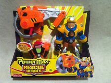 Rescue Heroes  Power Max Jack Hammer Construction Expert! FACTORY SEALED!
