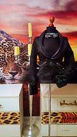 DIESEL   Gr.36 -XS-S   Vintage Jacke Echtleder Stoff schwarz - Women's jacket