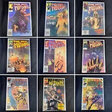 (Lot Of 9) The New Mutants No. 19, 20, 21, 22, 23, 24, 27, 29, 30 Marvel 1984