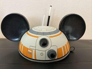 Used Disneyland Disney Parks Star Wars BB-8 Mickey Mouse Ears Hat