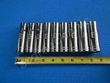 NEW Craftsman 9pc Metric 6pt DEEP Laser Socket set 1/2 Drive