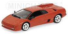 Lamborghini Diablo 1994 Red Metallic 1:43 Model 400103570 MINICHAMPS