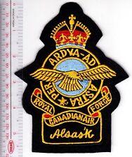 Canada Royal Canadian Air Force WWII RCAF Station Alsask Saskatchewan