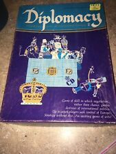 DIPLOMACY Game of International Intrigue - Avalon Hill Bookcase Game 1976