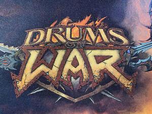 World of Warcraft WoW TCG Drums of War Set Rares/Epics CHOOSE YOUR CARDS!