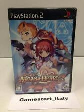 ARCANA HEART 2 JAPAN VERSION (SONY PS2) NUOVO NEW SEALED