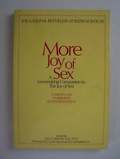 More Joy of Sex Paperback 1974 Edited by Alex Comfort