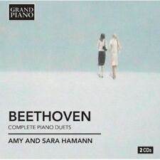 Sara Hamann, Ludwig van Beethoven - Complete Piano Duets [New CD]