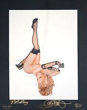 Olivia De Berardinis - Strudel - Dual Signed 16x20 Print - PSA/DNA Guaranteed!