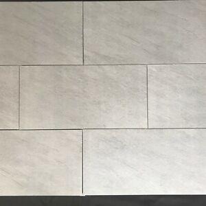 Jazzy Grey Marble Effect 60x30cm Shower Kitchen Wall Floor Tiles - 5m² Job Lot