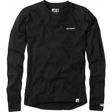 Madison Black Isoler Merino Long Sleeved Baselayer Top XL