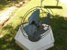 """Vintage 14"""" GE General Electric VORTALEX Oscillating Fan FM12V43 Works!"""