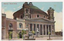 Malta, Musta Dome Postcard, B220