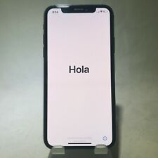 Apple iPhone X 256GB Space Gray Verizon Unlocked No Service Issue READ