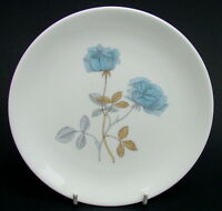 TWO 1970's Wedgwood Ice Rose R4306 Pattern 2 x Side or Bread Plates 16.75cm VGC