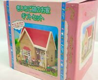 Sylvanian Families Strawberry Forest House Gift Set Hello Mac Original Limited
