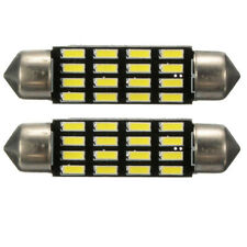 2x Car Dome Canbus 4014 SMD 16 LED Bulb Light Interior Festoon Lamp 42mm Wh C1U5