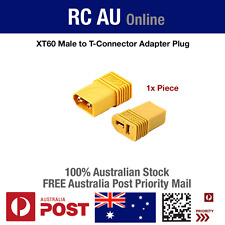 XT60 Male to Deans Ultra T Style Connector Adapter Plug - 1 Piece