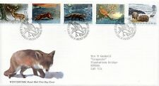 1992 Sg 1587/1591 Wintertime.The Four Seasons First Day Cover